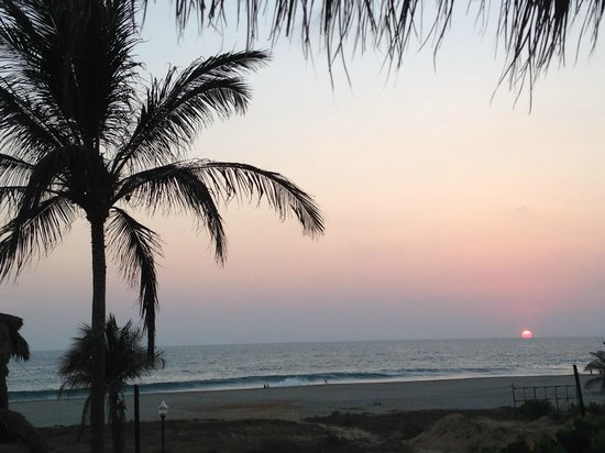 Zicatela Suites: sunset