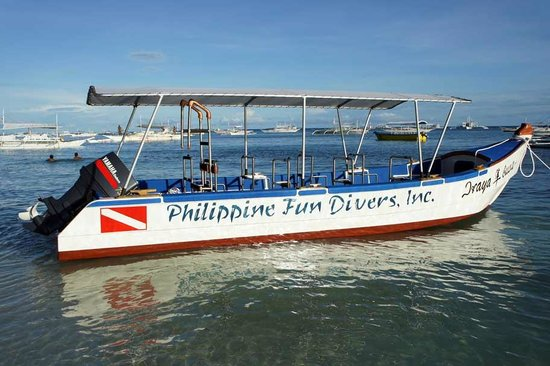 Philippine Fun Divers, Inc. : Hayabusa speedboat