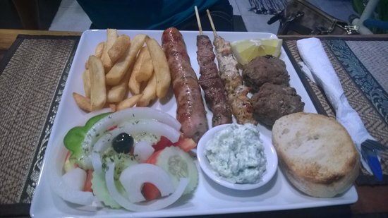 Pattayanis Greek Taverna : Traditional Grek grub :-)