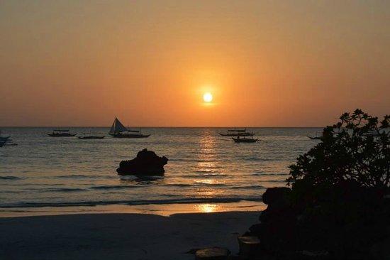 The Palms of Boracay : Sunset