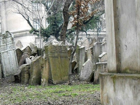 Old Jewish Cemetery: detalle