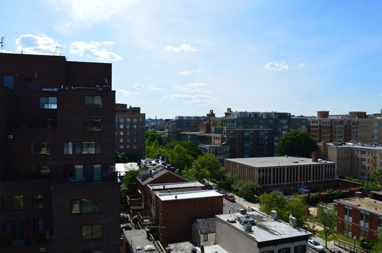 One Washington Circle Hotel: View from 9th floor