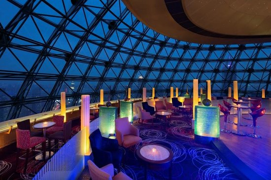 Radisson Blu Hotel Shanghai New World: Sky Dome Bar