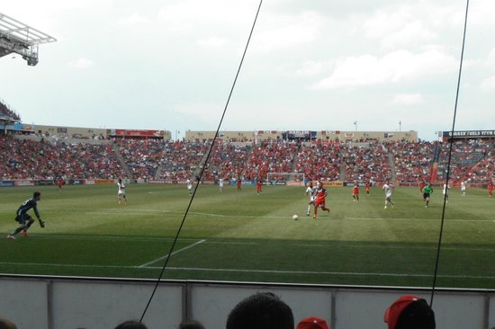 Toyota Park (Bridgeview Stadium): Field-view