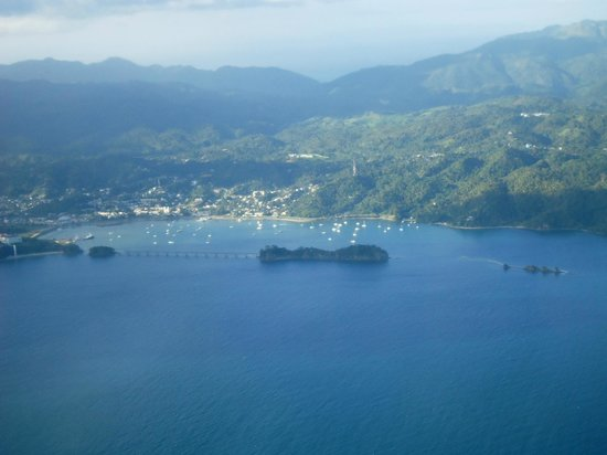 Whale Samana: Vista aerea de Samana