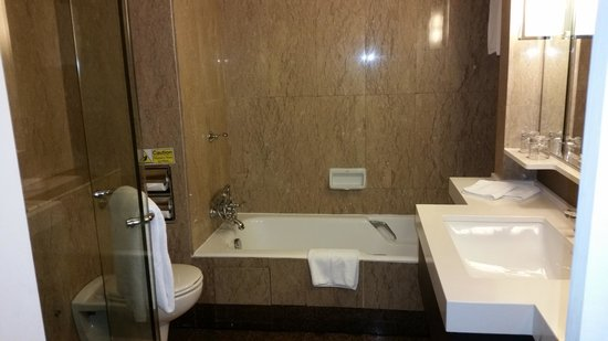 Our bathroom with bathtub and standing shower - Picture of Orchard ...