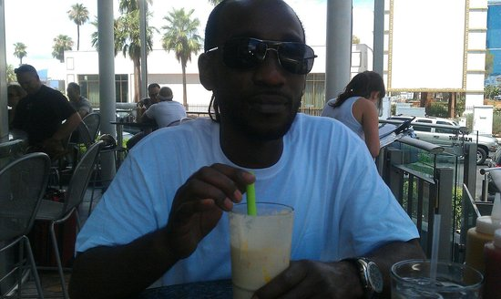 Stripburger : His first trip to vegas and he loves the shake