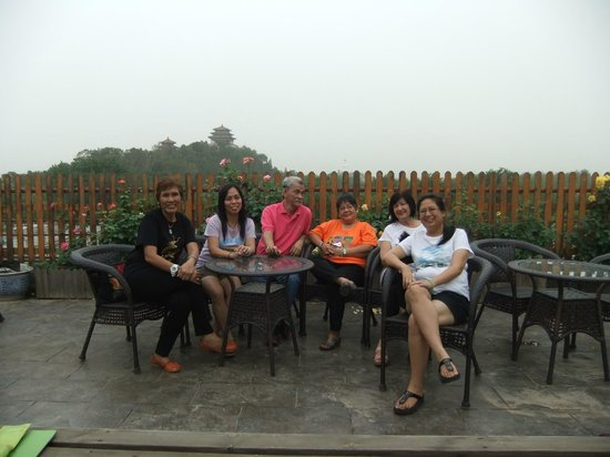 King Parkview Hotel: at the rooftop