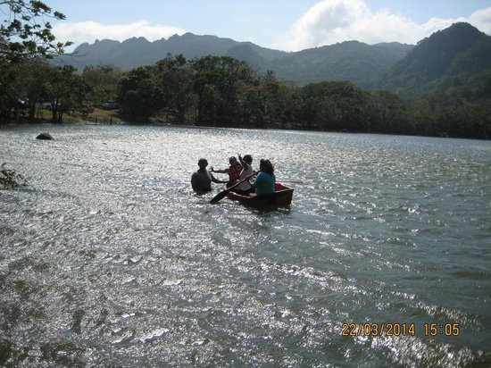 Laguna de San Carlos: Kayak