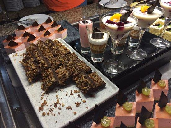 Hotel Riu Palace Mexico : Desserts