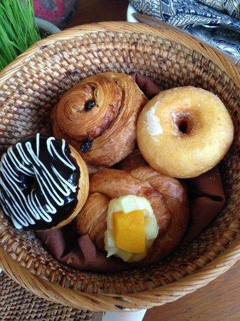 Komaneka at Bisma: American breakfast item 1, too many to upload