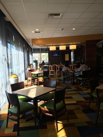 Fairfield Inn & Suites Tustin Orange County: Dining Area