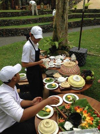 Komaneka at Bisma : Tea at Tanggayuda for a change