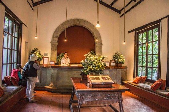 Inkaterra Machu Picchu Pueblo Hotel: Reception