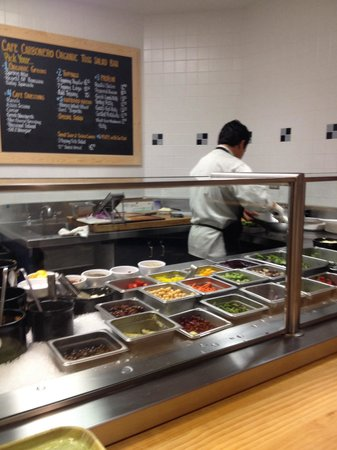Cafe Carbonero: Super salad bar