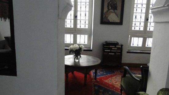 La Tangerina: Lobby area
