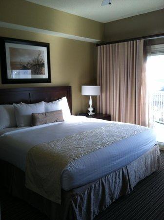 Holiday Inn Club Vacations Galveston Beach Resort: Bedroom