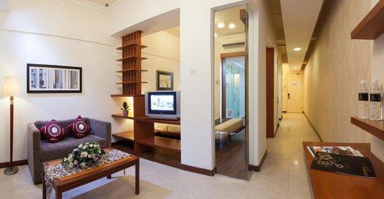 Studio Single Double Living Room Picture Of Peninsula Residence All Suite Hotel Kuala Lumpur Tripadvisor