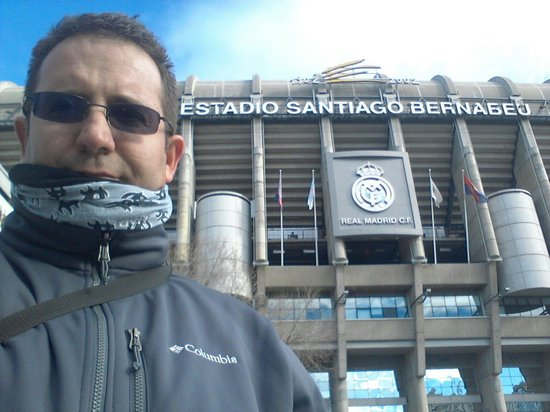 Stadio Santiago Bernabeu: Inmenso!