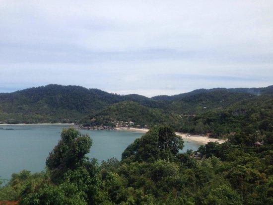 Santhiya Koh Phangan Resort & Spa: Blick vom Balkon