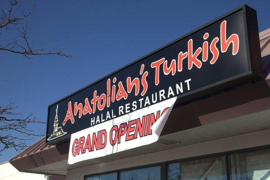 Anatolian's Turkish Halal Restaurant