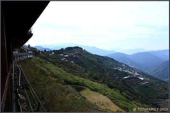 Top Cloud Villa Of Cingjing : 201號星空雙人房景觀