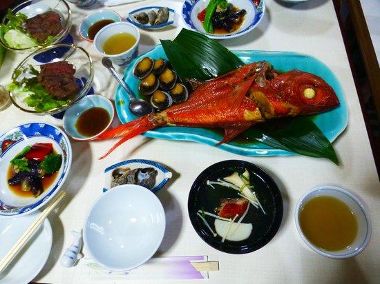 Murotoso : 室戶莊的漁師料理都以海鮮為主非常美味