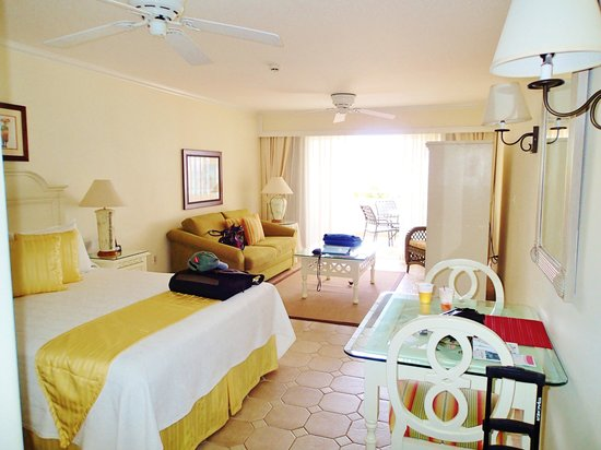 Bougainvillea Beach Resort : Our room in the West wing
