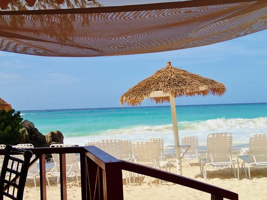 Bougainvillea Beach Resort: view from restaurant
