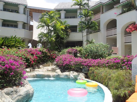 Bougainvillea Beach Resort: pool and ground at West wing