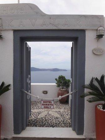 Hotel Kavalari: hotel gate