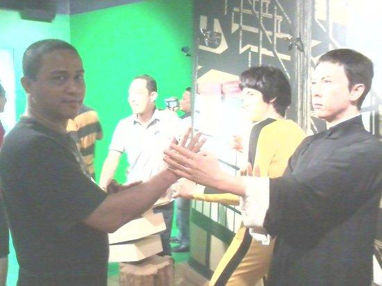 Madame Tussauds Bangkok: Latihan