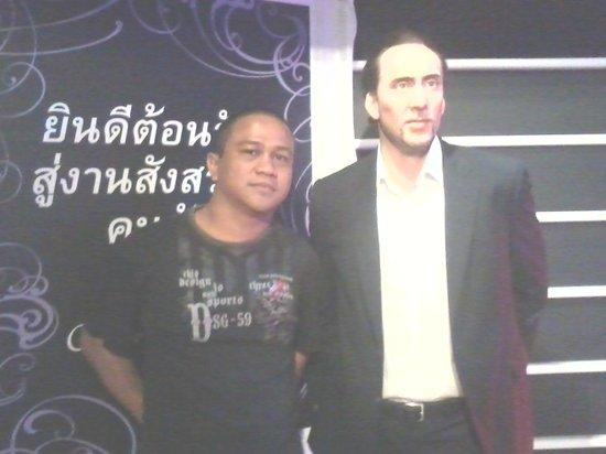 Madame Tussauds Bangkok: Nicolas Cage