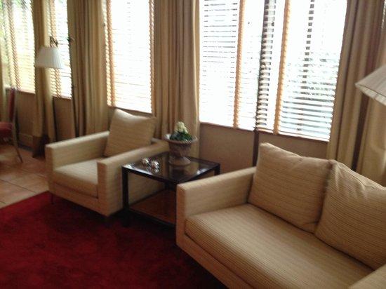 Stikliai Hotel: Second living room