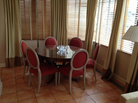 Stikliai Hotel: Dining area
