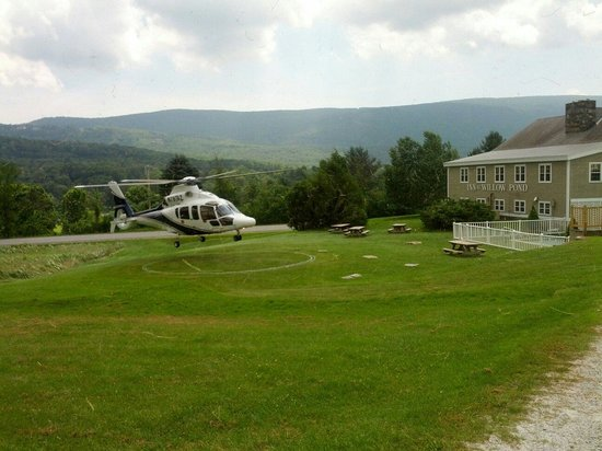 The INN at Willow Pond : How to avoid the Vermont traffic jams.