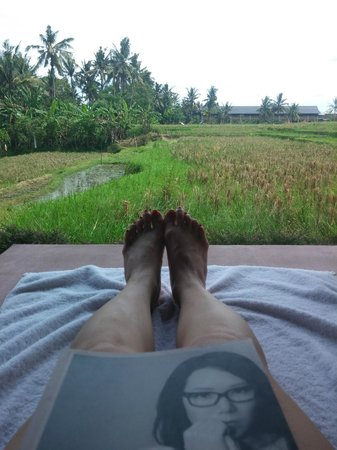 Biyukukung Suites and Spa : view from my daybed