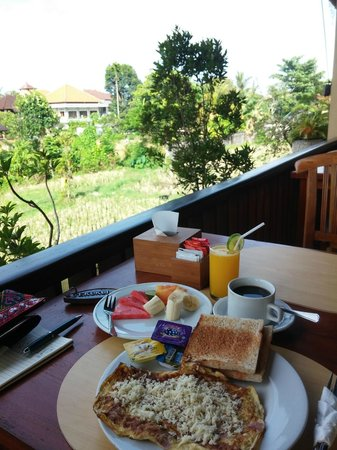 Biyukukung Suites and Spa : 1st day breakfast