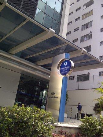 Transamerica Executive Bela Cintra: Puerta de entrada al hotel
