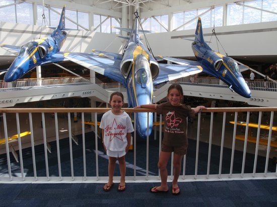 National Naval Aviation Museum: fun times...