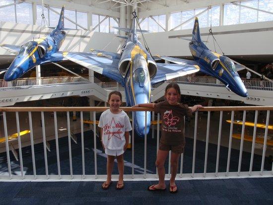 Museo Nacional de Aviación Naval: fun times...