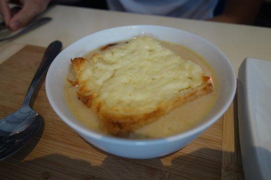 iX pour Bistro : Lorette onion soup