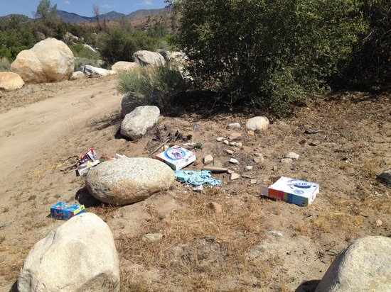 Kern River: Trash