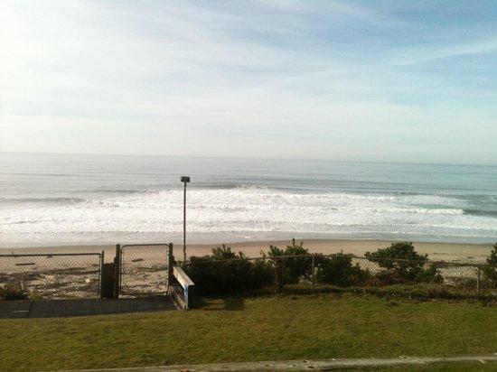 Ocean Terrace Condominium Suites: Our view from the patio