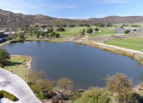 Barona Resort & Casino: View of lake which has been designated a migratory bird sanctuary by the Audubon Society. Back s