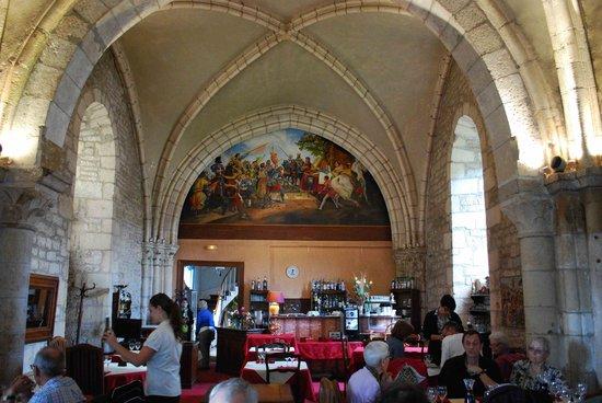 Auberge de La Chapelle : La salle à manger