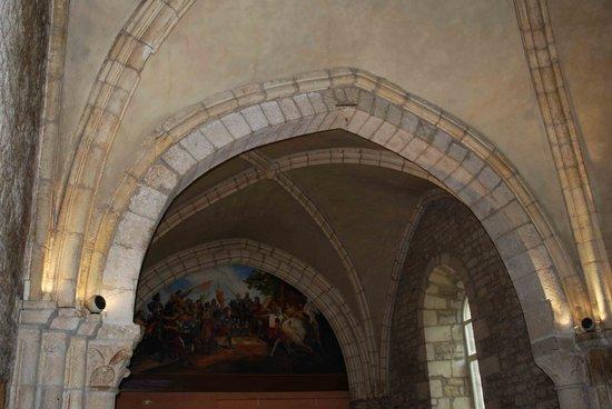 Auberge de La Chapelle : Décoration de l'ancienne chapelle