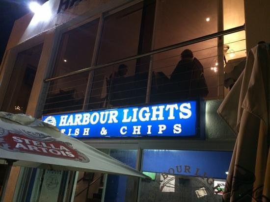 Harbour Lights Seafood Grill: upstairs and downstairs