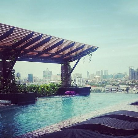Mode Sathorn Hotel: infinity pool