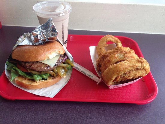 Red Mill Burgers--Interbay: Just what my tummy ordered!! Not to much or to little!
